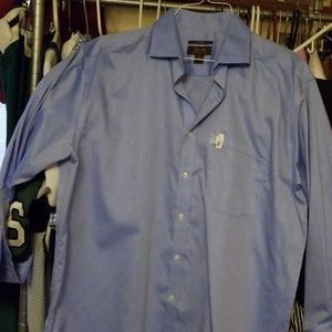 Men's dress shirt with French cuffs